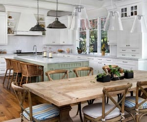 kitchen, interior, and farmhouse style image