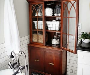 bathroom, home, and country living image