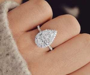 jewelry, ring, and wedding image