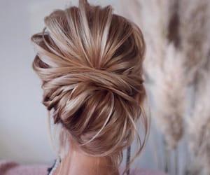 haïr, blond, and cheveux image