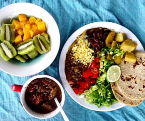 eat, lunch, and mexican image