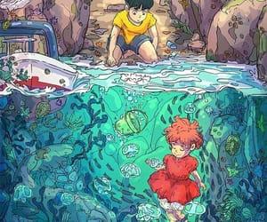anime, anime girl, and ghibli image