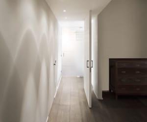 corridor, house, and modern image