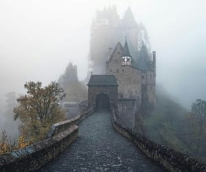 autumn, beautiful, and castle image