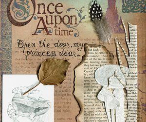 feather, illustration, and once upon a time image