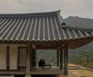 korea, Temple, and view image