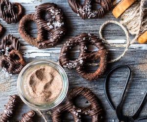 chocolate, Cinnamon, and sugar image