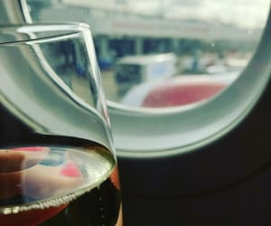 airplane, london, and photo image