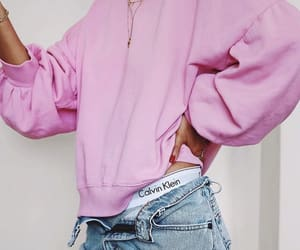 fashion, pink, and Calvin Klein image