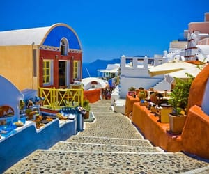 Greece, place, and vacations image