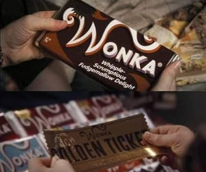 charlie and the chocolate factory, film, and Willy Wonka image