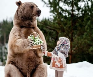 bear, kids, and photography image