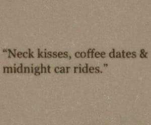 kiss, coffee, and date image