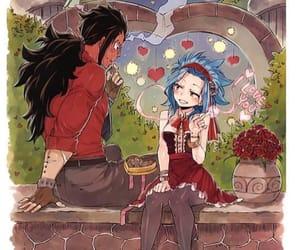 anime, fairy tail, and gajeel image