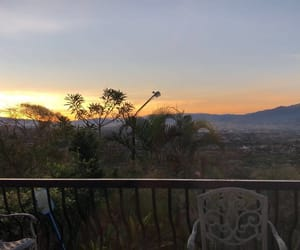 paysage, sunrise, and theview image