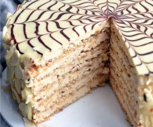 sweet, yummy, and cake image