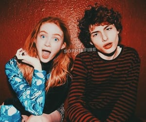 stranger things, noah schnapp, and sadie sink image