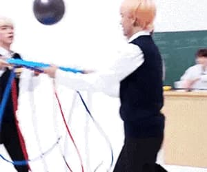 gif, bts, and run bts image