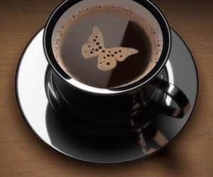 coffee, coffee cup, and good morning image
