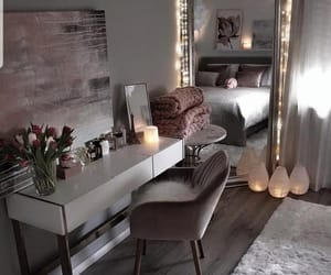 beautiful, bedroom, and chair image