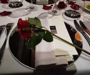 dinner, valentine's dinner, and love image