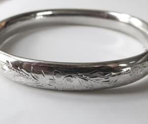 etsy, womens bracelet, and vintage sterling image