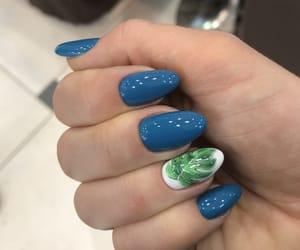 green, nice, and nail image