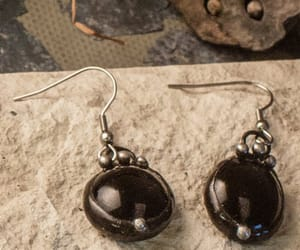 etsy, handmade jewelry, and small drop earrings image