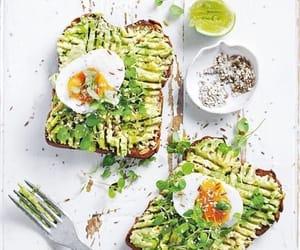 avocado, food, and toast image