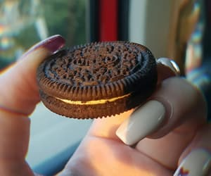 chocolate, Cookies, and shine image