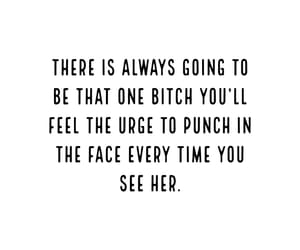 bitch, sarcastic quotes, and rude quotes image
