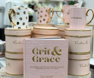 chic, gift box, and teacup image