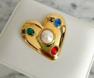 accessories, beautiful, and brooch image