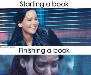 book, Jennifer Lawrence, and funny image