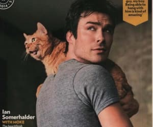 cat, ian somerhalder, and new image