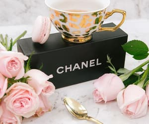 chanel, chic, and coffee image