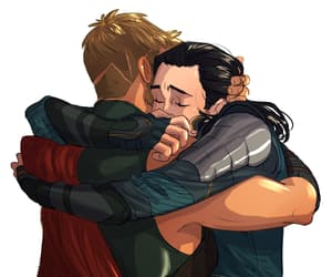 thor, Marvel, and loki image