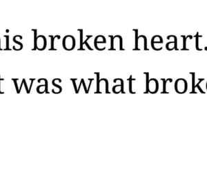 broken, broken heart, and fix image