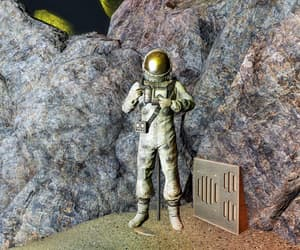 fallout, spacesuit, and nuka world image