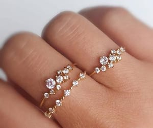 jewelry, rings, and style image