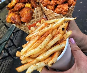 food, yummy, and Chicken image