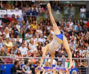 hoop, rhythmic gymnastics, and mexico team image