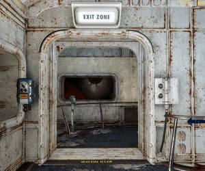 exit, run-down, and fallout image