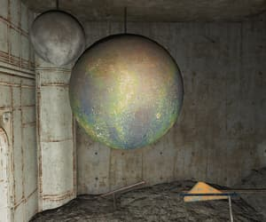 fallout, rusted, and vault image