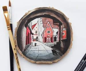 bedroom decoration, etsy bestseller, and drawing on wood image