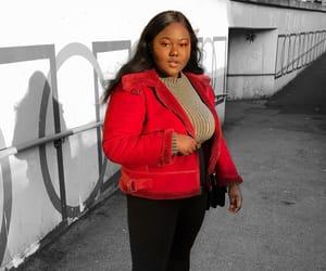 black, fashion, and fashion blogger image
