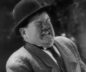 gif, laurel and hardy, and bonnie scotland image