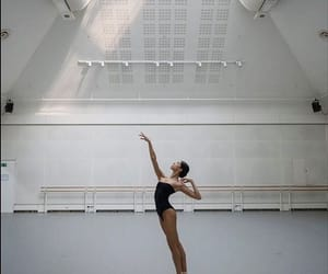 ballet, dance, and leotard image