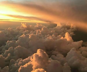 aesthetic, soft, and clouds image