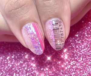 glitter, nail, and nail art image
